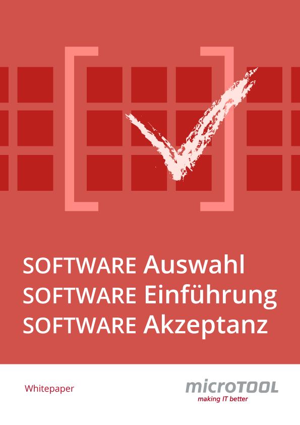 Software Auswahl Einführung Akzeptanz