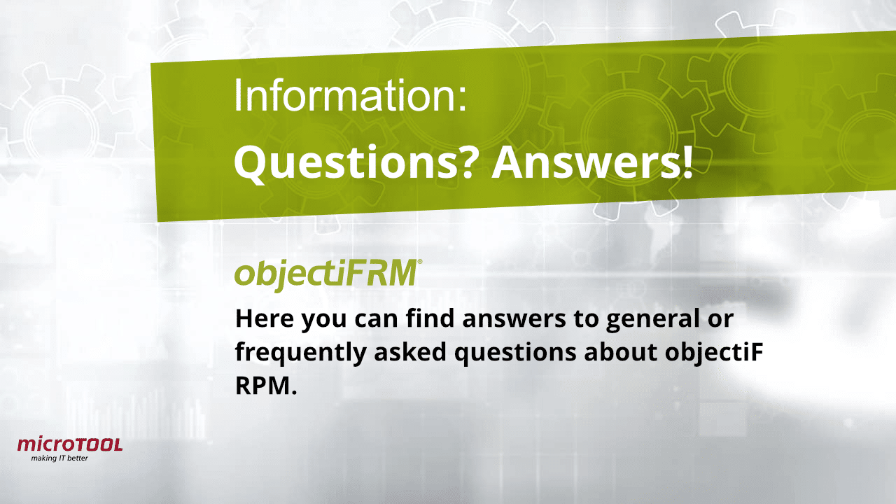 objectiF RM questions and answers