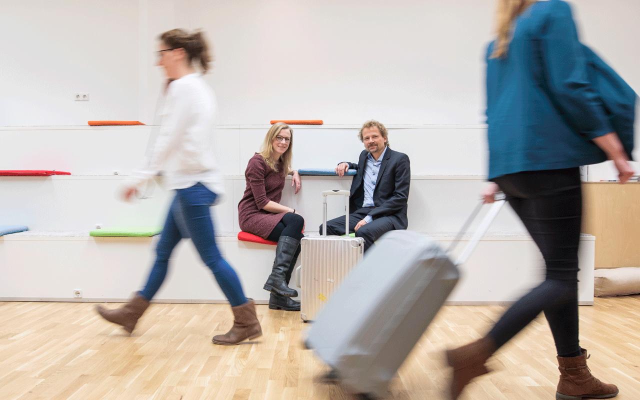 Wir packen unseren Koffer für ein digitales Organisationsmodell