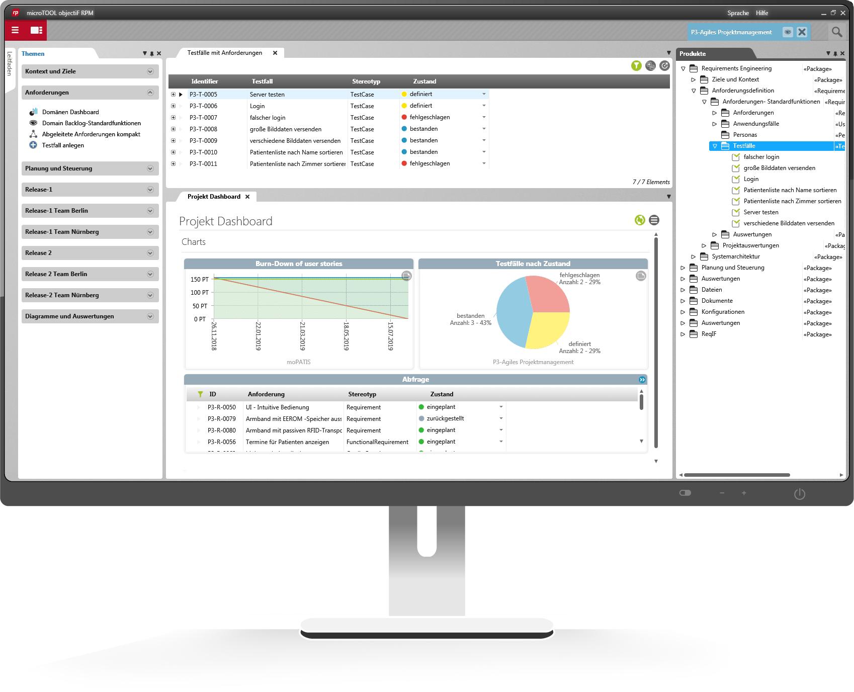 Testmanagement mit objectiF RPM