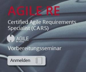 Seminar Certified Agile Requirements Specialist (CARS) 3
