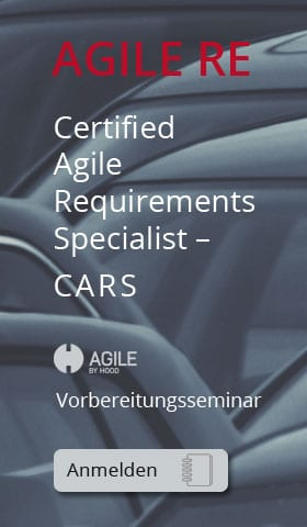 Certified Agile Requirements Specialist – CARS Vorbereitungsseminar