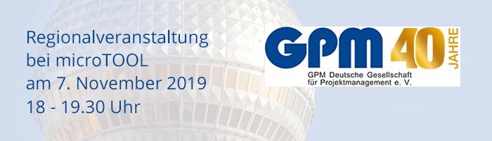 GPM Regionalveranstaltung 2019