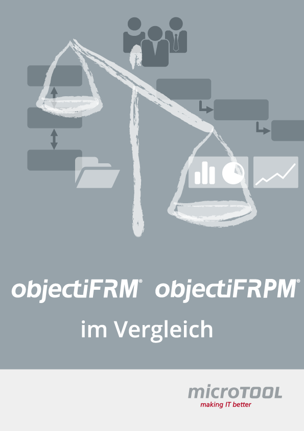 objectiF RM und objectiF RPM im Vergleich