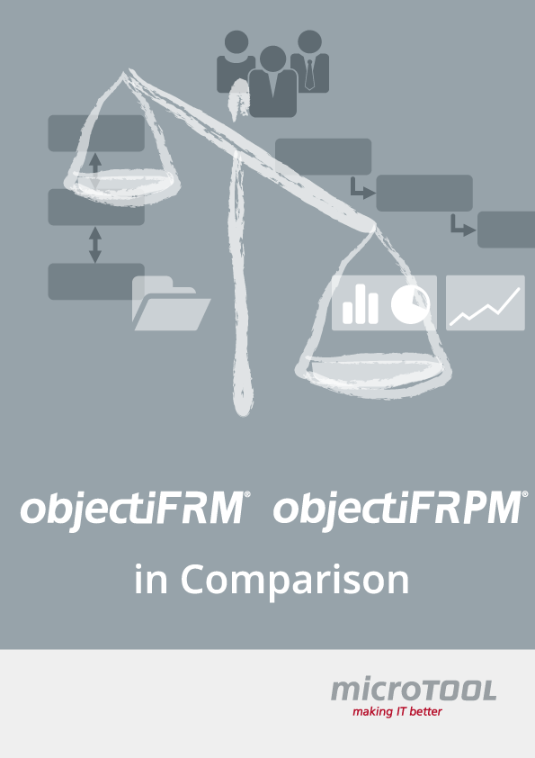 objectiF RM and objectiF RPM in comparison