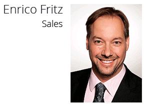 Enrico Fritz - Sales