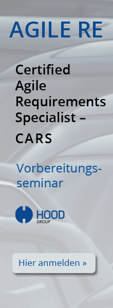 Seminar Certified Agile Requirements Specialist (CARS)
