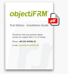 objectiF RM Trial Edition - Installation Guide - Download PDF