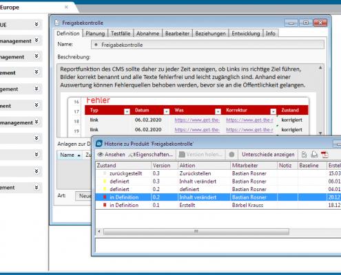 Unterstützung aller Bereiche und Projekte mit einer einzigen Software - mit in-STEP BLUE