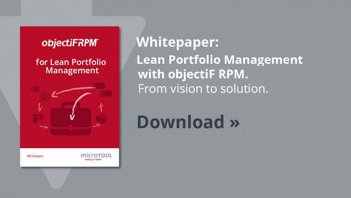 Whitepaper Lean Portfolio Management with objectiF RPM