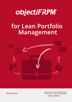 Whitepaper objectiF RPM for Lean Portfolio Management
