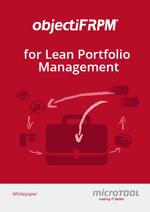 Whitepaper objectiF RPM for Lean Portfolio Management