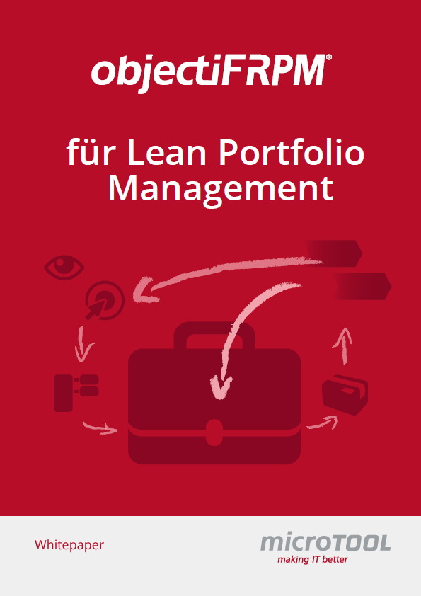 objectiF RPM für Lean Portfolio Management – Whitepaper Download