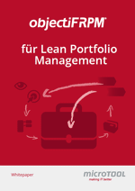 Whitepaper objectiF RPM für Lean Portfolio Management