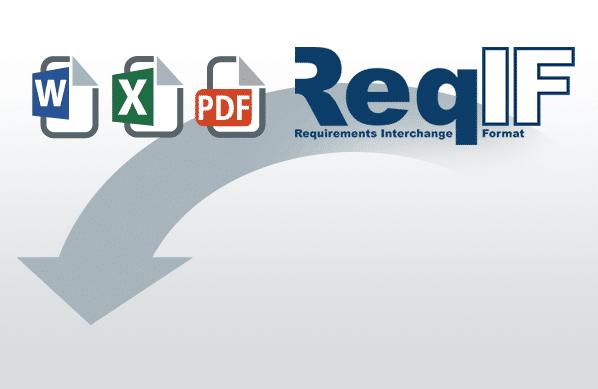 Anforderungen aus MS Word, MS Excel, PDF oder ReqIF nach objectiF RPM importieren