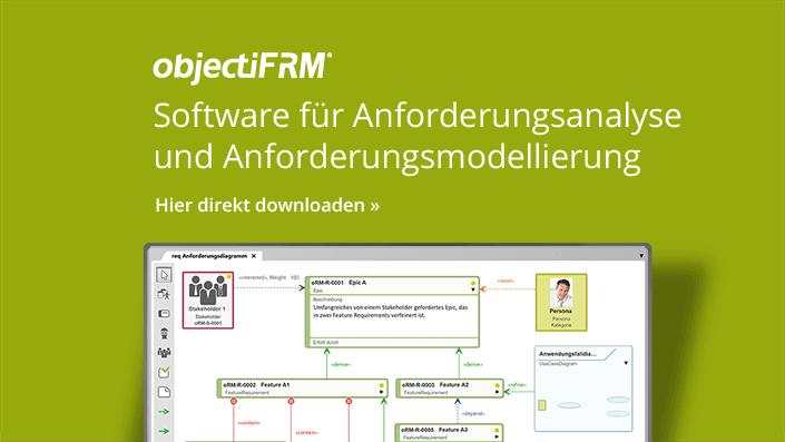 objectiF RM - Software für Anforderungsanalyse und Anforderungsmodellierung
