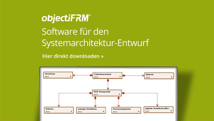 objectiF RM - Software für den Systemarchitektur-Entwurf