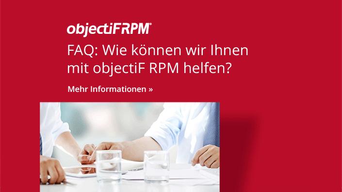 objectiF RPM - Häufig gestellte Fragen und Antworten