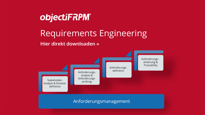 objectiF RPM - Software für Requirements Engineering