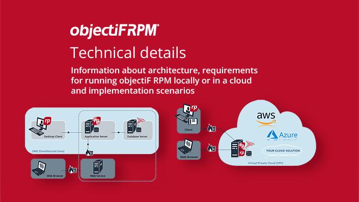 objectiF RPM - technical details