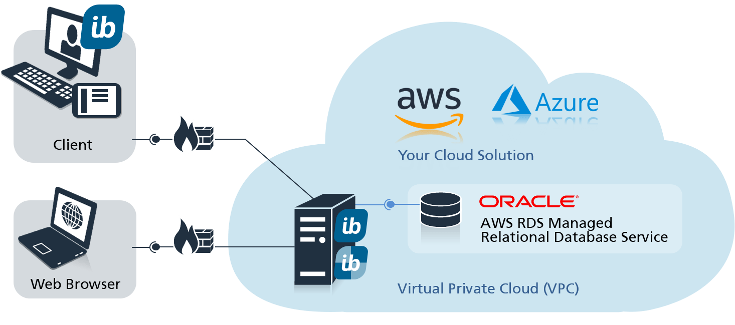in-STEP BLUE in the virtual private cloud