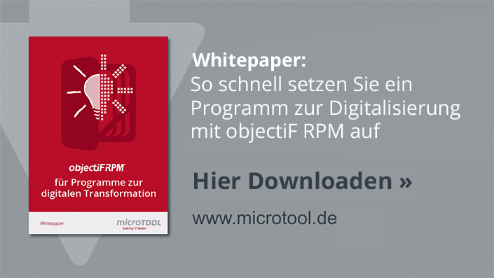 objectiF RPM - digitale Transformation - Whitepaper