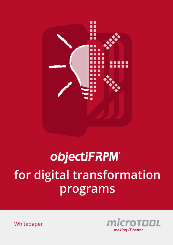 objectiF RPM for digital transformation – whitepaper