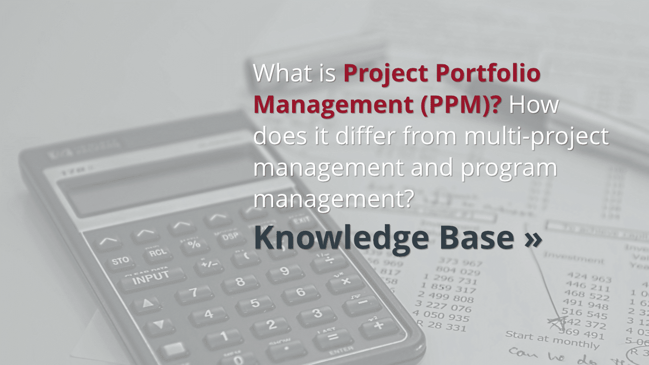 What is project portfolio management (PPM)?