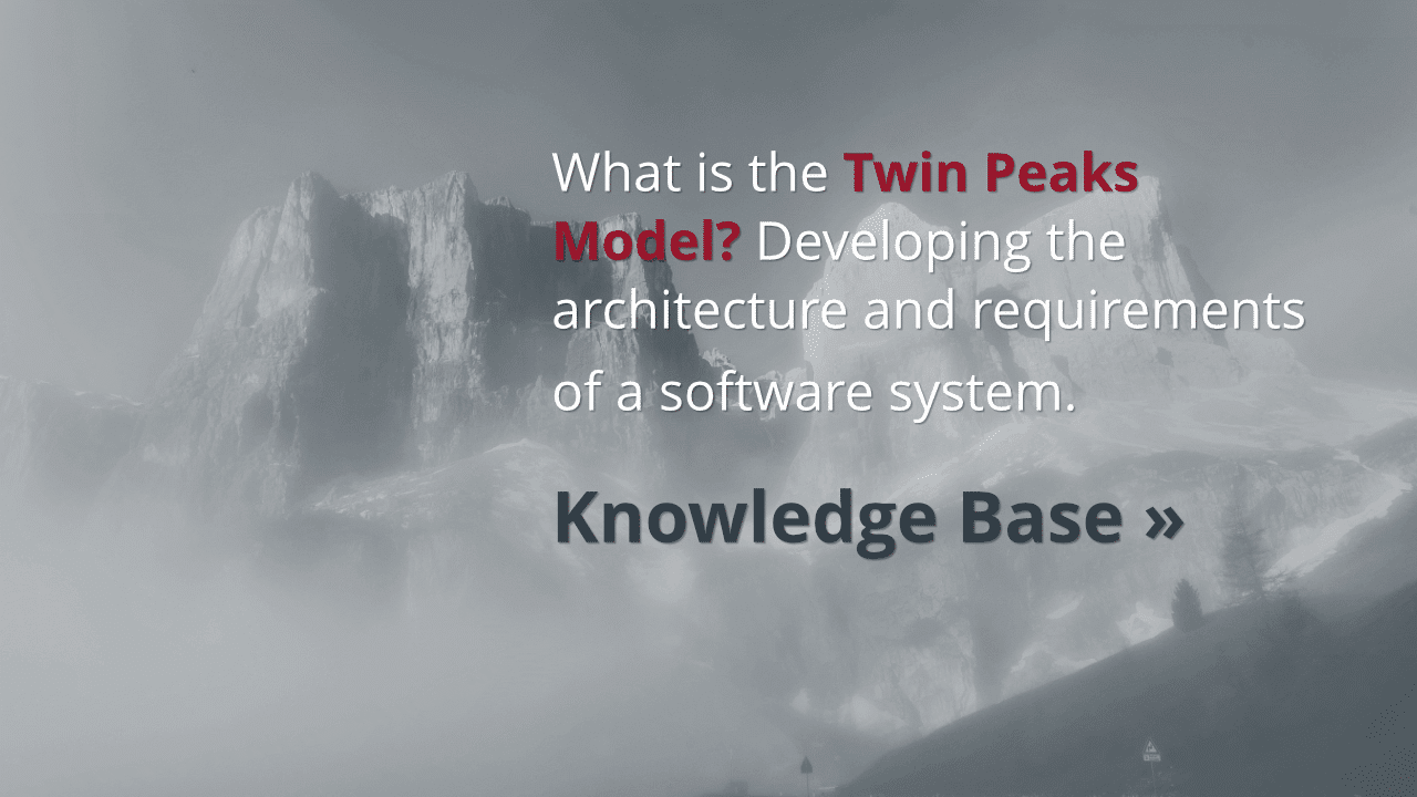 Knowledge Base: What is the Twin Peaks Model?