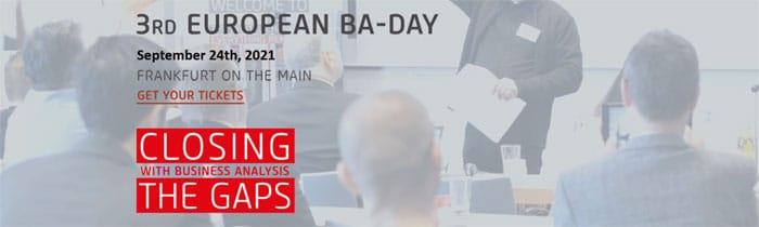 3rd European BA-Day 2021