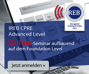 DE Seminar IREB CPRE Advanced Level