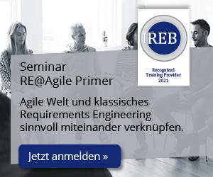 DE Seminar IREB RE@Agile Primer