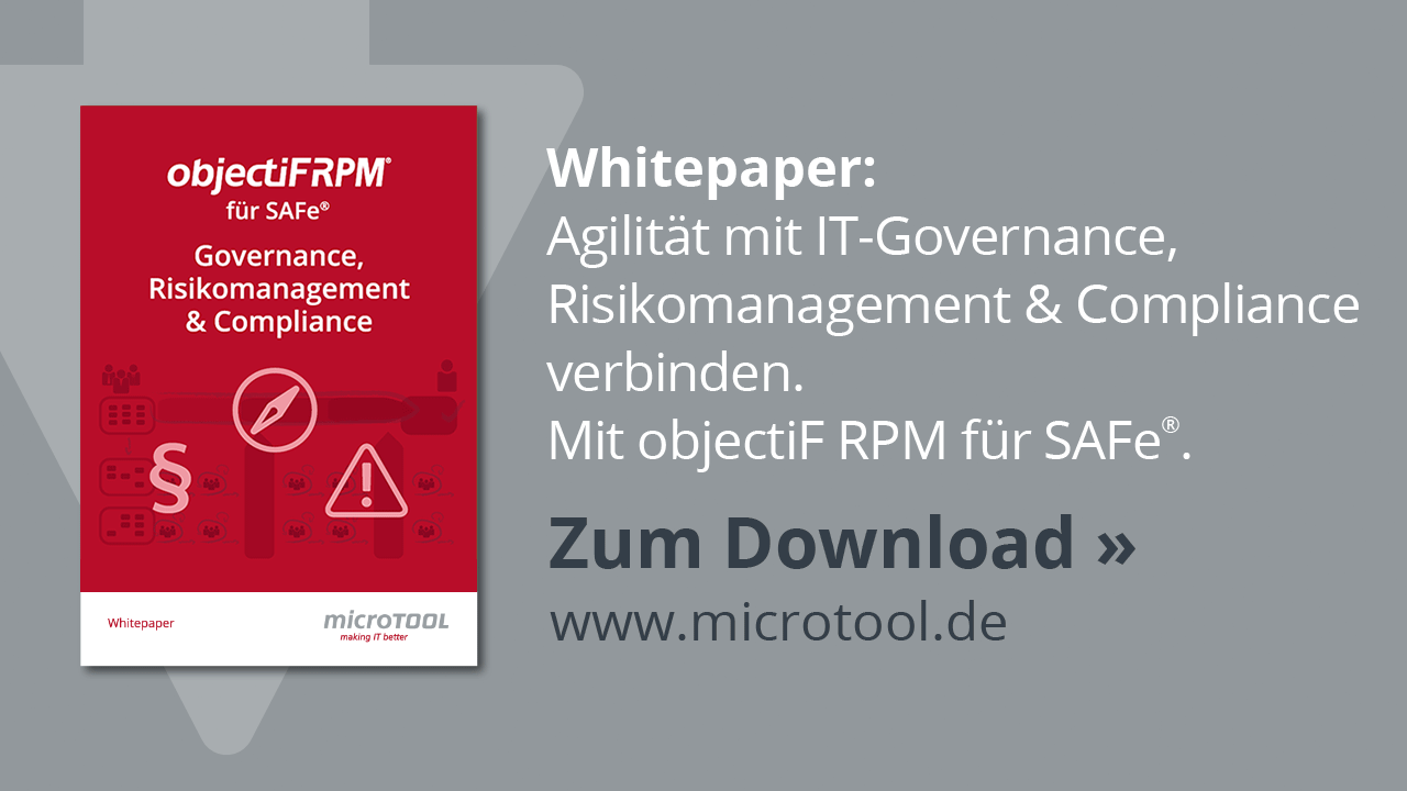 objectiF RPM - IT GRC Whitepaper zum Download