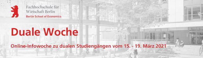 Duale Woche der HWR Berlin
