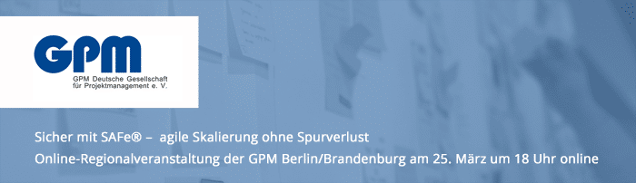GPM Berlin/Brandenburg Regionalevent online