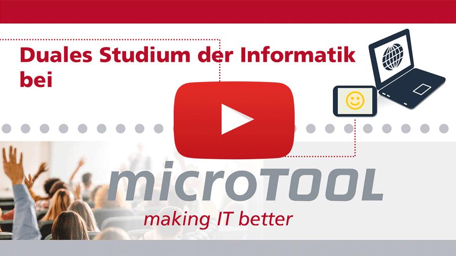 Video duales Studium bei microTOOL