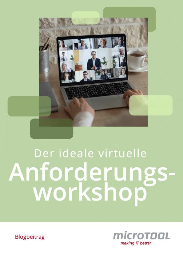 PDF Der ideale virtuelle Anforderungsworkshop