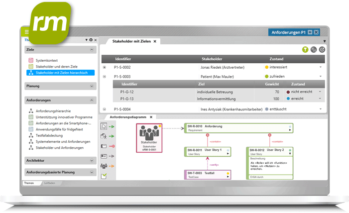objectiF RM Requirements Engineering & Management Software