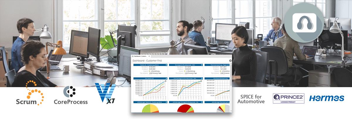 Webinar: in-STEP BLUE - prozessbasertes Projektmanagement - kennenlernen