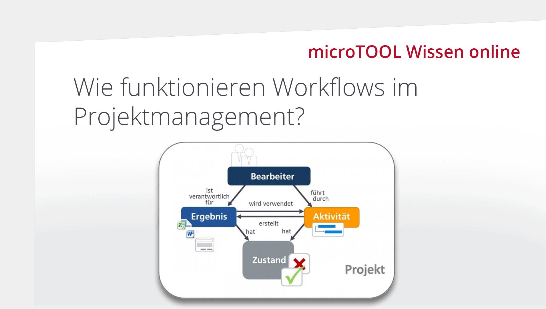 Wissen online: Wie funktionieren Workflows im Projektmanagement?