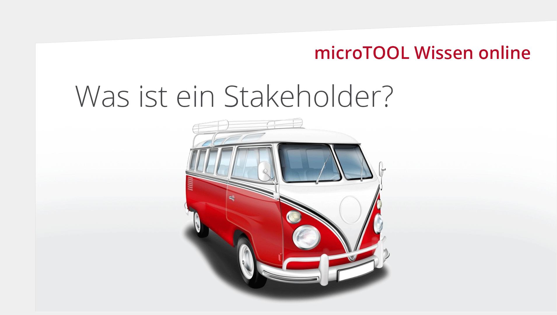 Wissen online: Was ist ein Stakeholder?