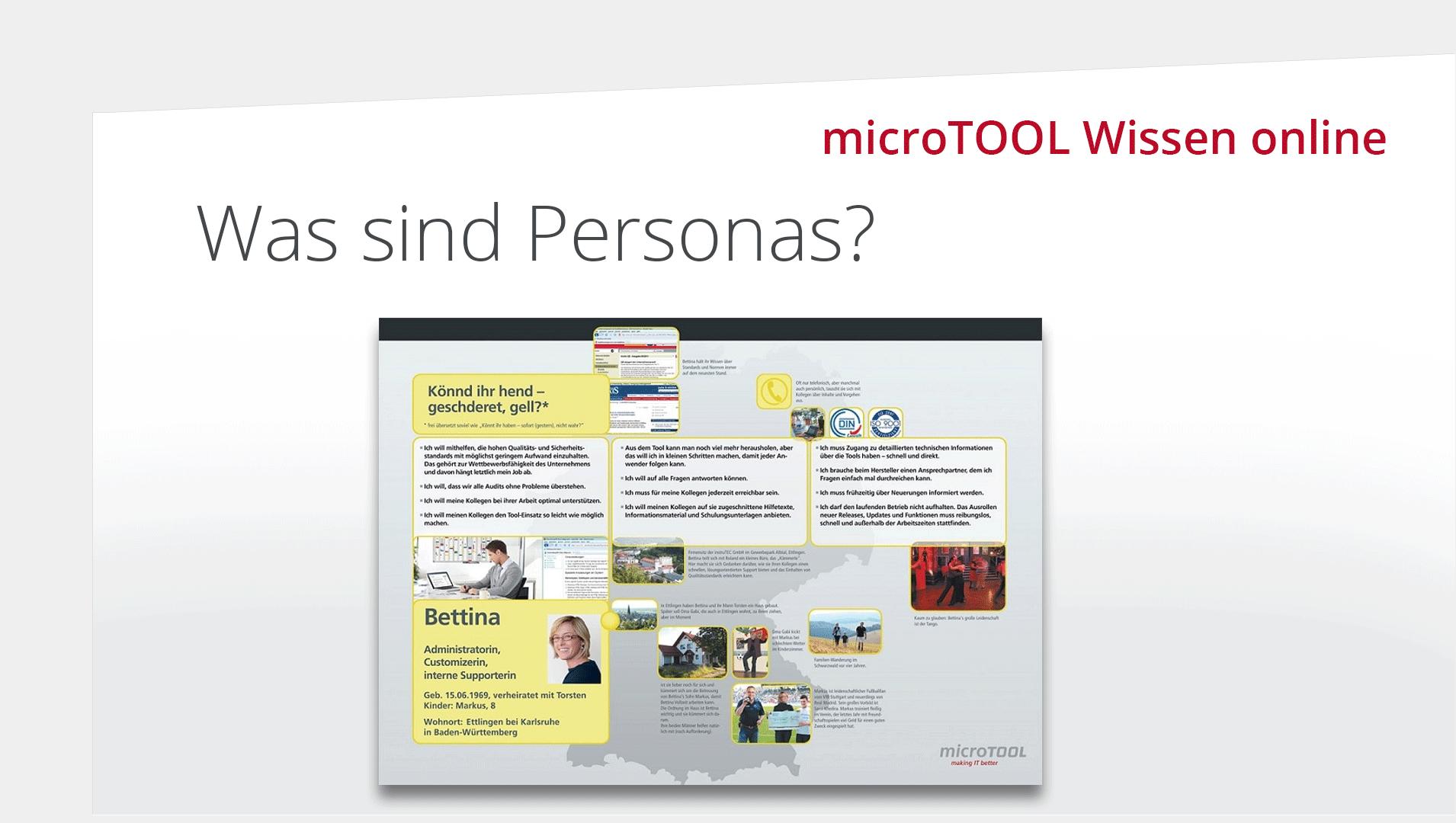 Wissen online: Was sind Personas?
