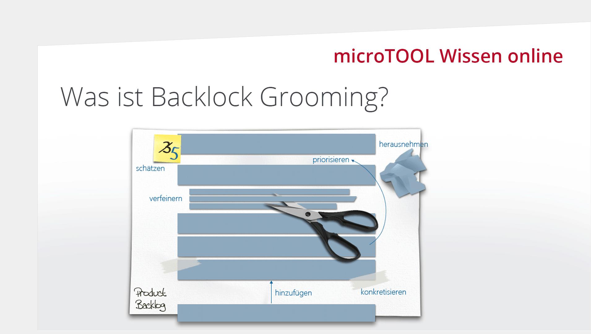 Was ist Backlog Grooming?