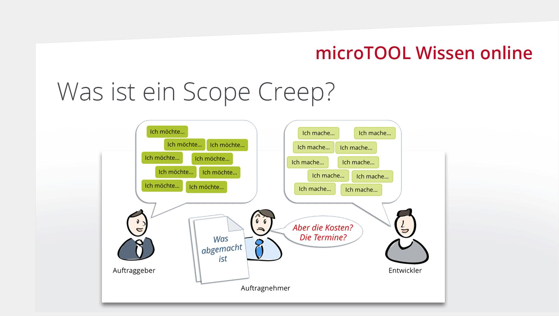 Was ist ein Scope Creep?