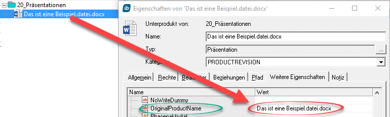 Dateinamen per RegEx in in-STEP BLUE ersetzen