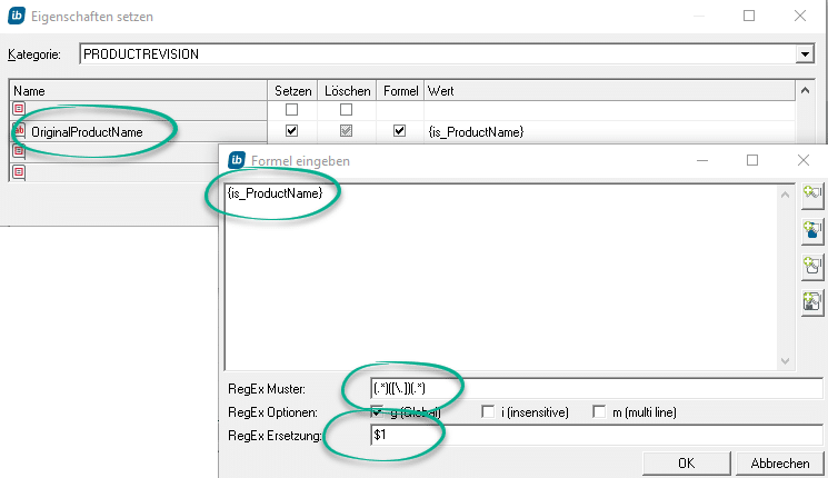 Formel für Dateiendung kürzen per RegEx