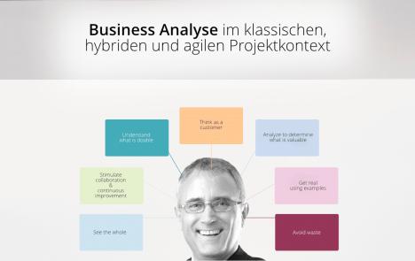 Business Analyse im klassischen, hybriden und agilen Projektkontext