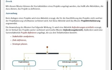 Muster anwenden im Projektmanagement mit in-STEP RED
