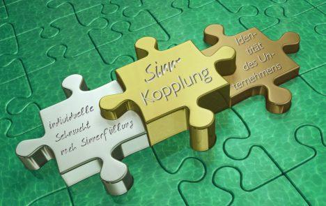 Sinnkopplung als Bindung zwischen individueller Sehnsucht nach Sinnerfüllung und der Identität des Unternehmens