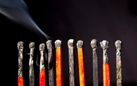 Ausgebrannt - Mitarbeiterüberlastung verhindern
